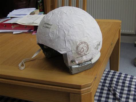 How To Make A Paper Mache Helmet - paper mache astronaut helmet pics about space