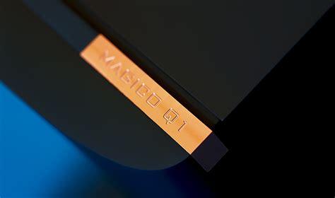 Speaker Q1 magico q1 black anodized echosaudio high end audio store
