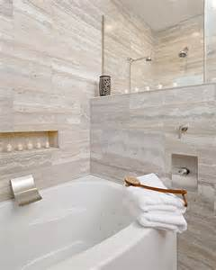 vein cut travertine bathroom contemporary with custom