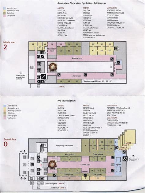 musee d orsay floor plan musee d orsay floor plan architecture