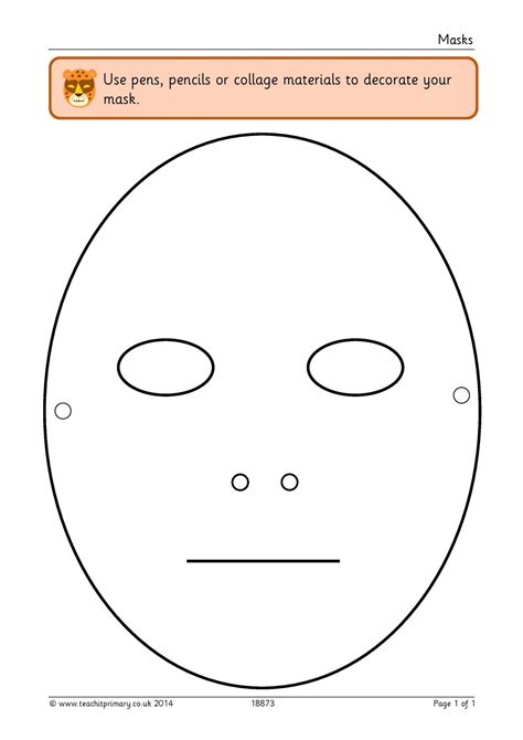 mask template for mask template