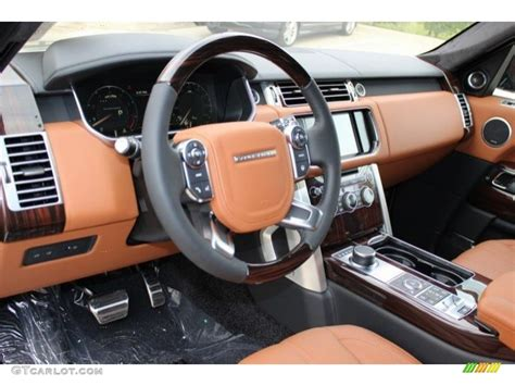 tan land rover ebony tan interior 2016 land rover range rover