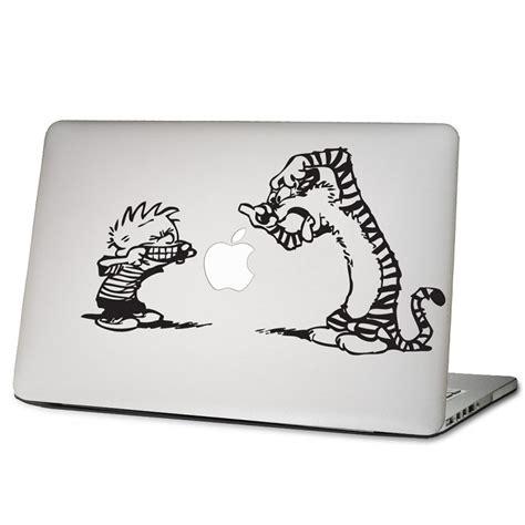 Apple Aufkleber Notebook by Calvin Und Hobbes Laptop Macbook Sticker Aufkleber