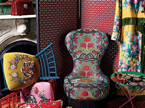 gucci unveils their home decor line with a selection of