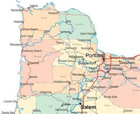 map of oregon coast cities gallery of oregon maps