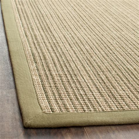 what are sisal rugs safavieh fiber green sisal area rugs nf442a ebay