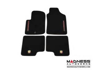 Fiat 500 Floor Mats Fiat 500 Floor Mats Set Of 4 Carpet W Abarth Essesse