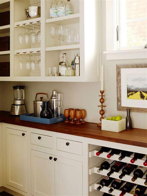 built  wine rack transitional kitchen bhg