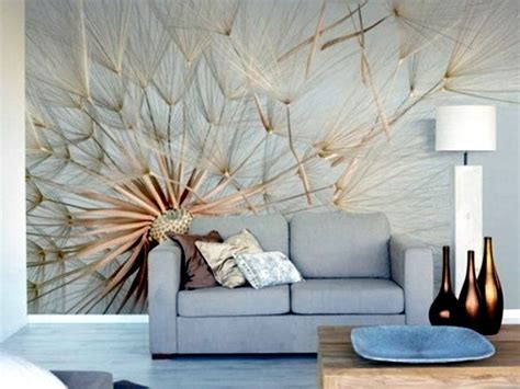 living room wall covering ideas 13 creative ideas for the design of the wall in the living room with floral motifs interior