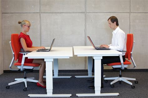 proper chair height for desk the benefits of ergonomic seating proper desk height