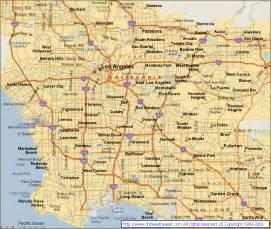 mapas de los angeles eua mapasblog