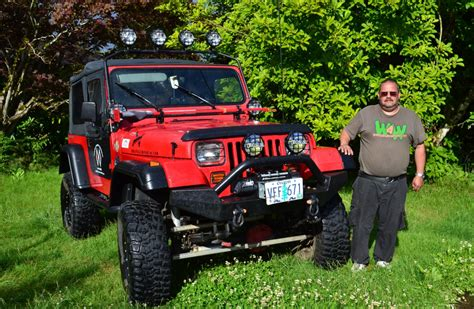 Jeep Contest Team 4 Wheel Parts Awards Monthly Winner For His Jeep