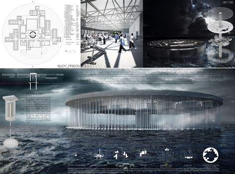 design competition platform new platform prison in the middle of the ocean positive