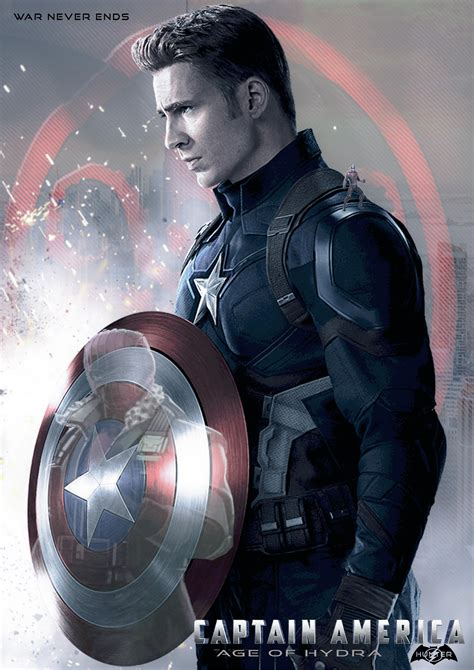 of the age fan captain america 4 age of hydra fan made poster marvelstudios