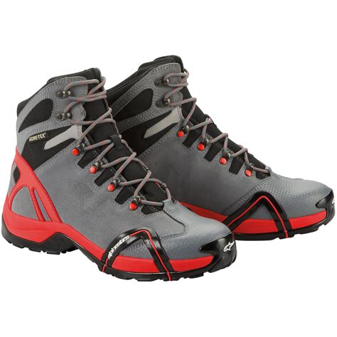 motorcycle shoe alpinestars cr 4 tex xcr motorcycle touring