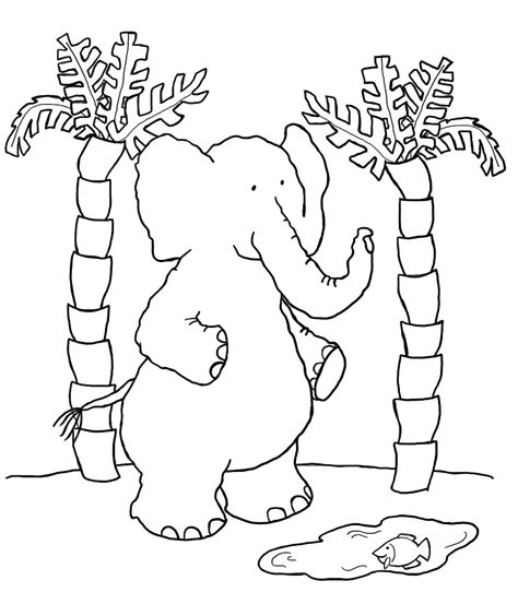 coloring page elephant head free elephant head coloring pages