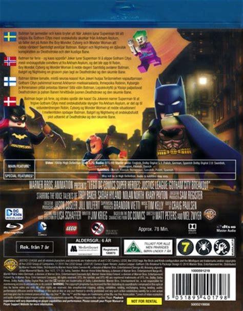 Kaos Justice League Dc 3 Batman Superman Wonderwoman lego justice league gotham city breakout