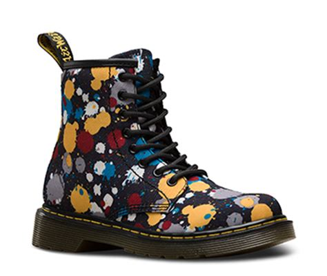 angelus paint dr martens paint splatter collection official dr martens store