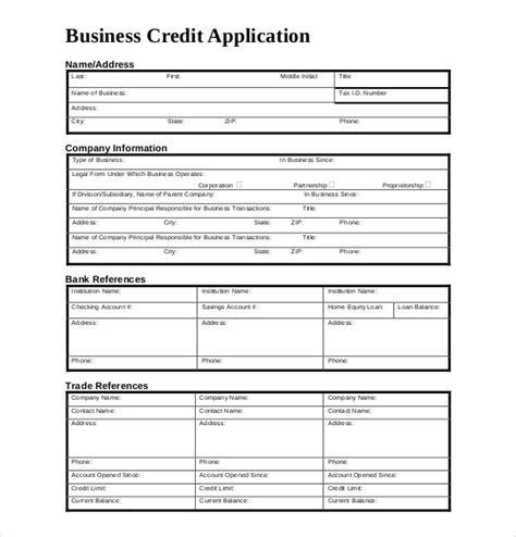 Credit Application Form Template Uk credit application form template uk carers credit