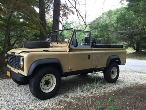 how to sell used cars 1986 land rover range rover electronic valve timing buy used 1986 land rover defender 110 lhd 2 5 n a diesel in la fayette new york united states
