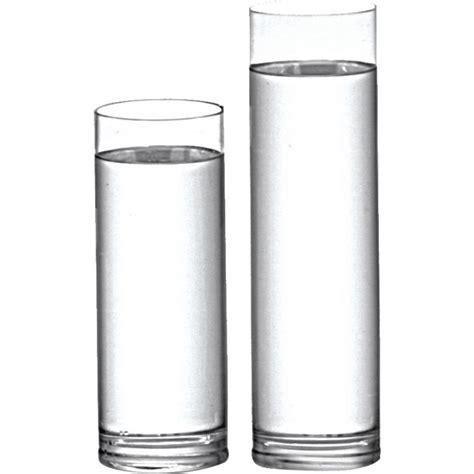 vaso trasparente vaso cilindro transparente 31cm