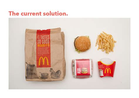 Mcdonalds Puts What Image On Bags