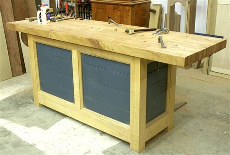 woodworkers work bench new workbench build popular woodworking magazine