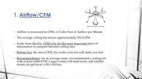 ceiling fans 6000 to 8000 cfm airflow ceiling fan airflow cfm energywarden