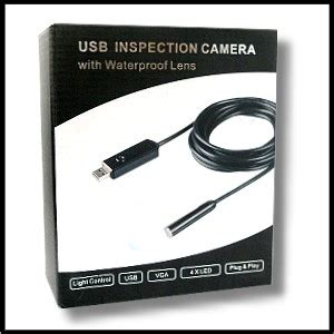 pipeline inspection camera with waterproof camera head