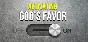 daily favor: how long does god's favor last?