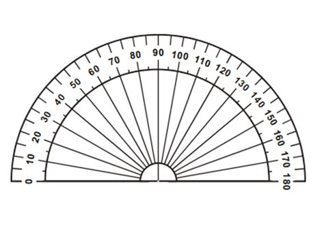 printable ruler for visually impaired awesome printable protractor template pictures inspiration
