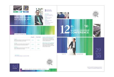 best photos of conference brochure sles business