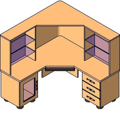 Revitcity Com Object Large Quot L Quot Shaped Desk Large L Shaped Desk