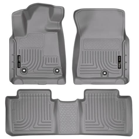 Toyota Tundra All Weather Floor Mats by Husky Weatherbeater All Weather Floor Mats For 2014 2016