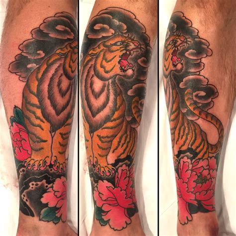 japanese tiger tattoo tattoos alex