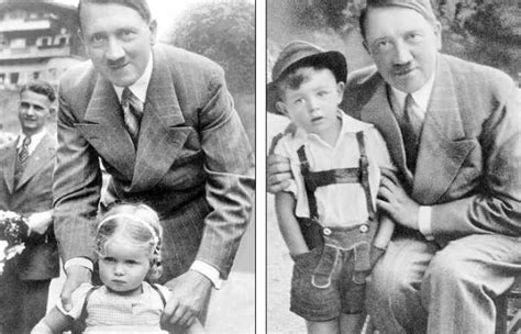 hitler biography for students adolf hitler grins as he poses with children in propaganda
