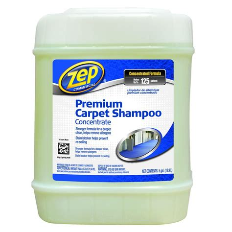 zep 5 gal premium carpet shoo zupxc5g the home depot