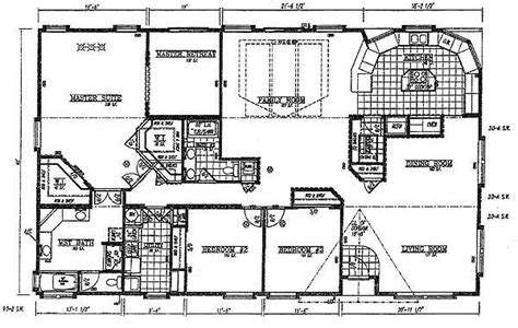 floor plans for a mansion valley quality homes mansion series 2836 floor plan