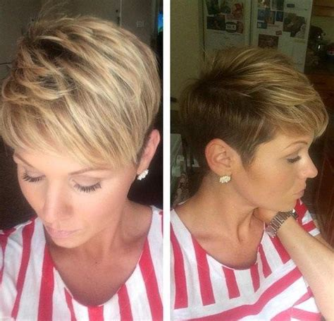 edgy pixie brown with blonde highlights best 25 pixie highlights ideas on pinterest 2015 short