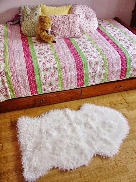 Ikea Tejn Rug by Ikea Faux Sheepskin Floor Rug Soft Warm Tejn White Brand New