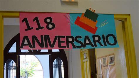 decoracion para aniversarios decoraciones colegio en el 118 aniversario