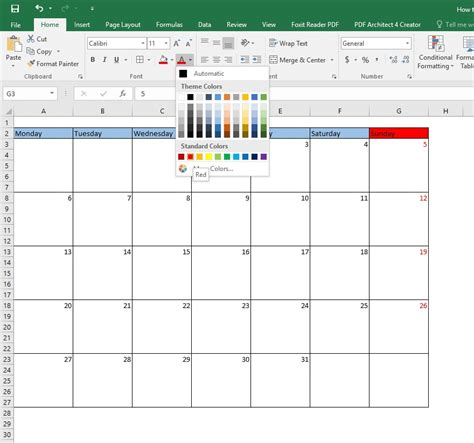 can you make a calendar in excel how to create a calendar in excel step by step process