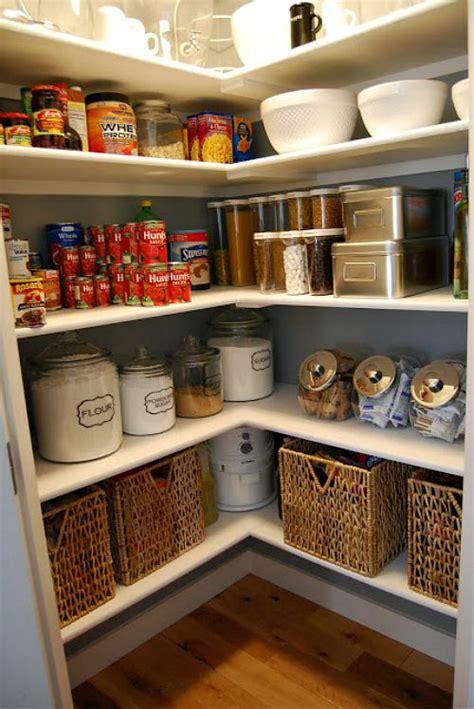pretty pantry organization ideas