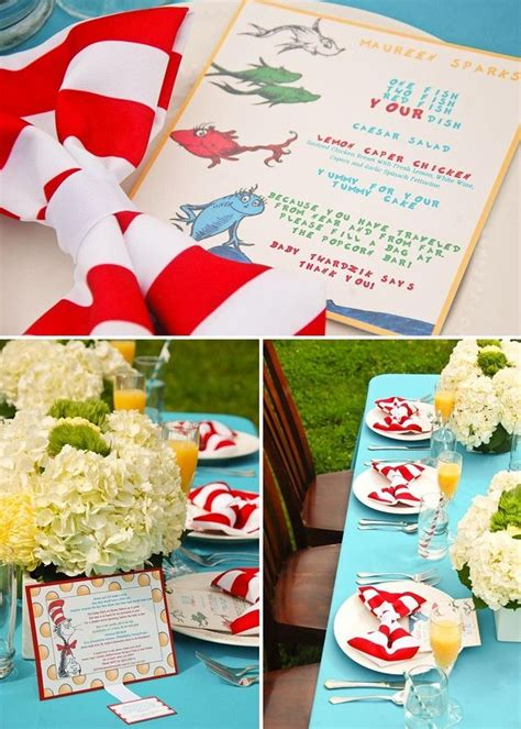 Dr Seuss Baby Shower Theme by Dr Seuss Themed Baby Shower 3 Ideas