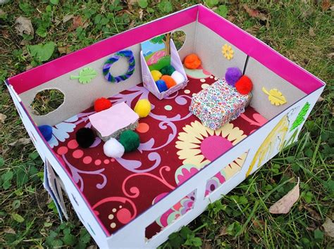 shoebox bedroom project fairy house from shoe boxes kids pinterest fairy