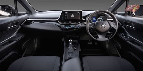 toyota chr interior toyota chr india interior mileage price specs photos