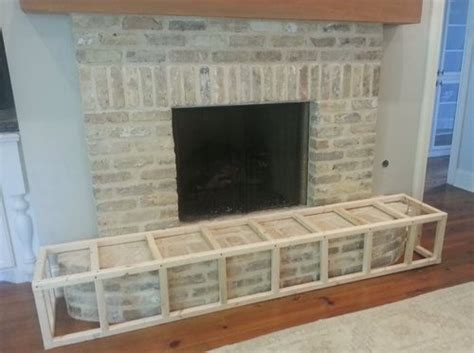 Child Proof Brick Fireplace by 17 Best Ideas About Fireplace Hearth Decor On