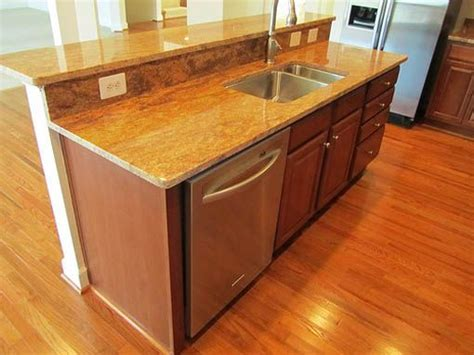pictures of kitchen islands with sinks 17 best images about kitchen island with sink and dishwasher on small kitchen
