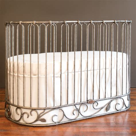 Wrought Iron Baby Cribs Sale Jadore Crib Cradle Pewter