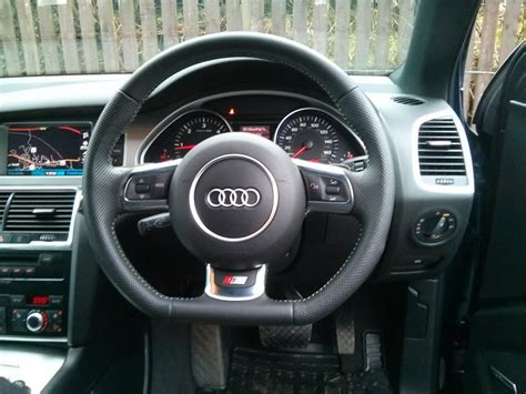 Audi Q7 Four Wheel Steering by Q7 With A Flat Bottom Steering Wheel Audiworld Forums